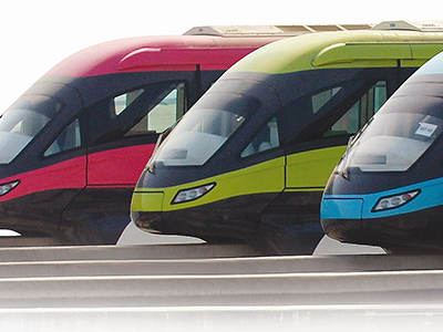 CTRM Composites Non-aerospace monorail